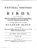 download ebook a natural history of birds. illustrated with copper plates engraven from the life. vol 1-3. - london, william junys 1738 pdf epub