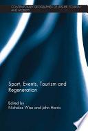 Sport  Events  Tourism and Regeneration