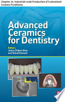 Advanced Ceramics For Dentistry book