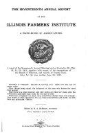 Annual Report of the Illinois Farmers' Institute