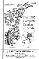 The     Complete Catalog of Seeds