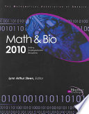 Math and Bio 2010 New Educational Paradigm In Which The Disciplines