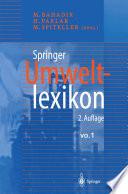 Springer Umweltlexikon