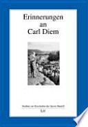 Erinnerungen an Carl Diem