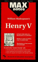 download ebook henry v (maxnotes literature guides) pdf epub