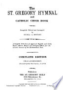 The St  Gregory Hymnal