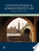 Constitutional   Administrative Law