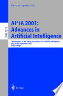 AI IA 2001  Advances in Artificial Intelligence