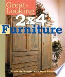 Great-Looking 2x4 Furniture