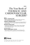 Year Book of Thoracic and Cardiovascular Surgery