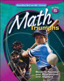 Math Triumphs  Grade 5  Student Study Guide  Book 1  Number and Operations and Algebra