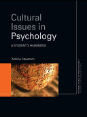 download ebook cultural issues in psychology pdf epub