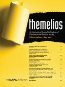 download ebook themelios, volume 39, issue 2 pdf epub