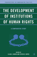 The Development of Institutions of Human Rights