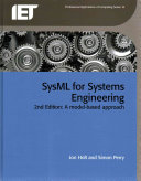 SysML for Systems Engineering  2nd Edition