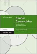Gender Geographien