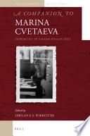 A Companion to Marina Cvetaeva