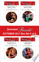Harlequin Presents October 2017   Box Set 2 of 2
