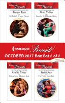 Harlequin Presents October 2017 - Box Set 2 of 2