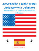 download ebook 27000 english-spanish words dictionary with definitions pdf epub