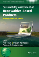 download ebook sustainability assessment of renewables-based products pdf epub