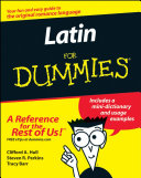 Latin For Dummies Book