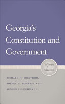 Georgia s Constitution and Government