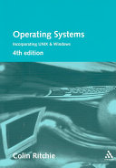 Operating Systems Incorporating UNIX and Windows