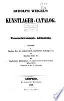 R. Weigel's Kunstcatalog