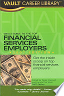 Vault Guide to the Top Financial Services Employers