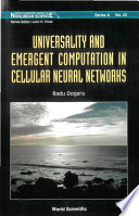 Universality and Emergent Computation in Cellular Neural Networks