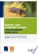 Gabler | MLP Berufs- und Karriere-Planer Life Sciences 2009 | 2010