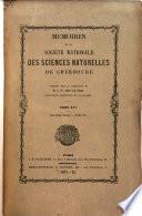 illustration du livre Mémoires de la Societé nationale de sciences naturelles et mathematiques de Cherbourg