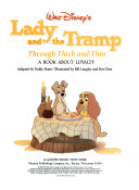 download ebook walt disney's lady and the tramp through thick and thin pdf epub