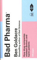 Bad Pharma Book Cover