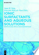 Ionic Surfactants And Aqueous Solutions