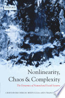 Nonlinearity  Chaos  and Complexity
