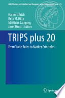 TRIPS Plus 20 : agreement, which was signed in marrakesh on...