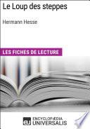 Le Loup des steppes d Hermann Hesse