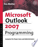 Microsoft Outlook 2007 Programming