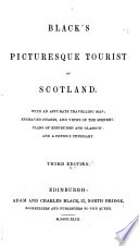 Black s Picturesque Tourist of Scotland     Third edition