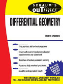 Schaum s Outline of Differential Geometry
