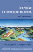 Deepening Eu Ukrainian Relations