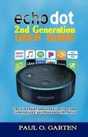 Echo Dot 2nd Generation User Guide