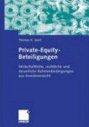 Private-Equity-Beteiligungen