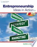 Entrepreneurship  Ideas in Action