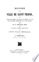 Histoire de la ville de Saint-Trond