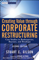 Creating Value Through Corporate Restructuring