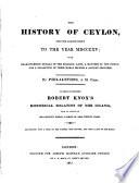 Ebook The History of Ceylon Epub Robert Fellowes Apps Read Mobile