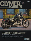 Harley Davidson XL Sportster 2014 2017 Clymer Repair Manual